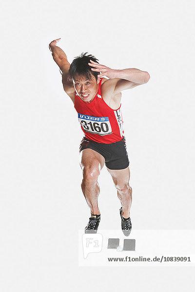 Athlet japanisch