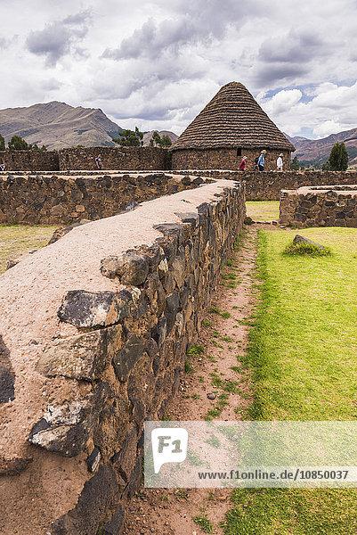 Raqchi  an Inca archaeological site in the Cusco Region  Peru  South America