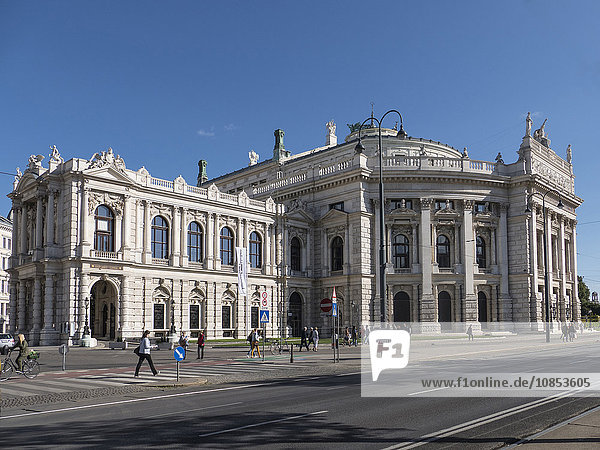 Burgteater  Vienna  Austria  Europe