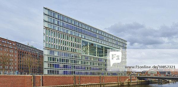 Deichtor-Center und Haus der Photographie  Hamburg  Deutschland  Europa