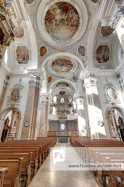 Kloster St. Mang  Füssen  Bayern  Deutschland  Europa Kloster St. Mang, Füssen, Bayern, Deutschland, Europa