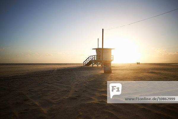Rettungsschwimmerturm  Venice Beach  Los Angeles  USA