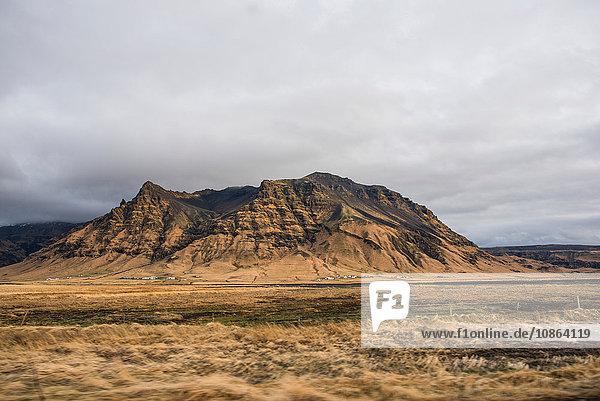 Mountain  Seljalandsfoss  Iceland