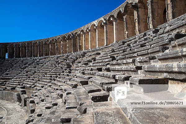 Dilapidated steps of amphitheater, Dilapidated steps of amphitheater