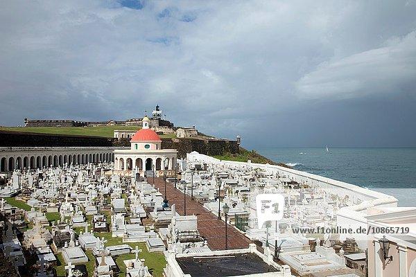Luftaufnahme des Friedhofs