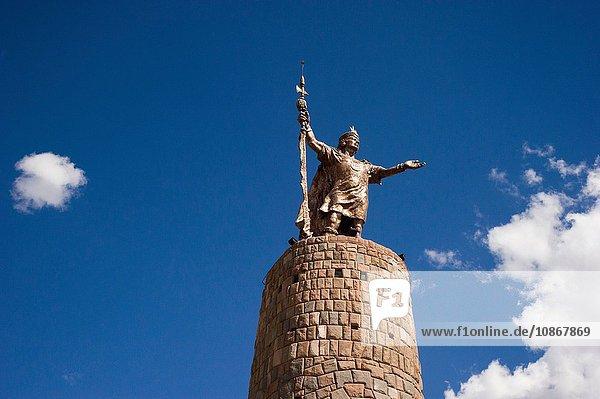 Pachacuti-Statue  Cusco  Peru