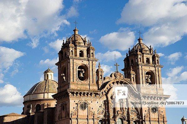 Kirche der Gesellschaft Jesu auf der Plaza de Armas  Cusco  Peru