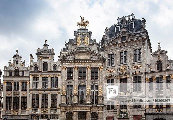 Gebäude des Grand Place  Brüssel  Belgien