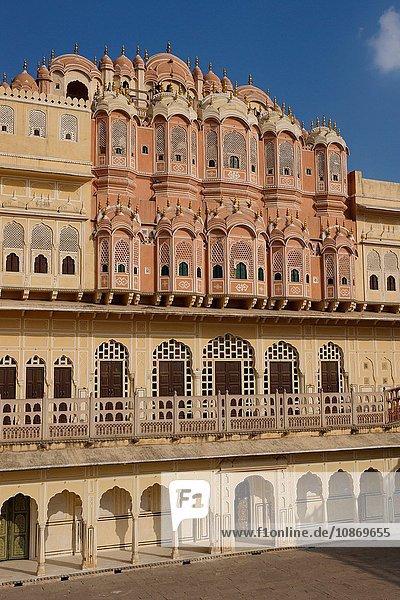 Hawa Mahal ''Palast der Winde'' in Jaipur  Rajasthan  Indien