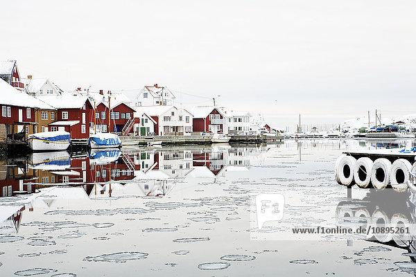 Schweden  Bohuslan  Kladesholmen  Fischerdorf