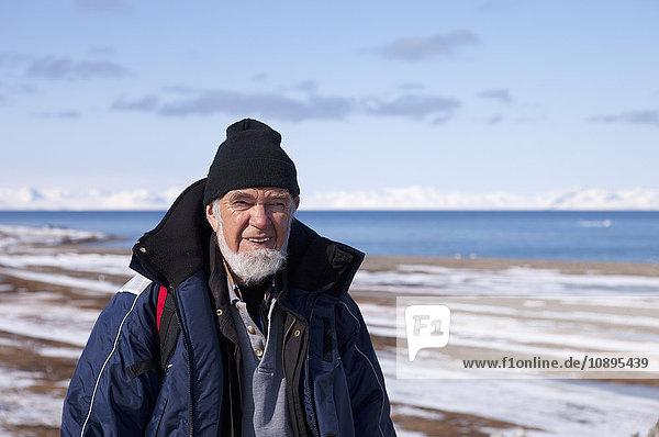 Norwegen,  Spitzbergen,  Seniorenwandern im Winter