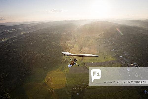 Schweden  Medelpad  Sundsvall  Piloten- und Passagierflüge in Microlite