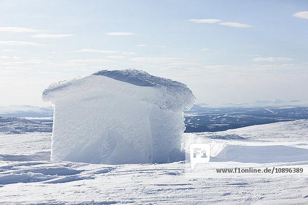 Schweden  Jamtland  Are  Haus aus Eis