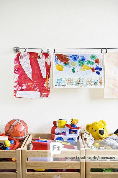 Schweden  Stockholm  Kinderzimmer