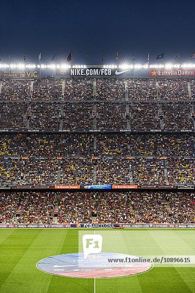 Spanien  Barcelona  Camp Nou Stadion während des Spiels