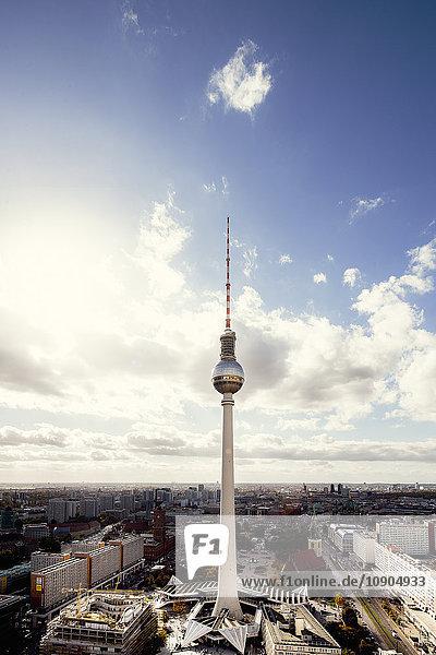 Deutschland  Berlin  Blick auf den Fernsehturm