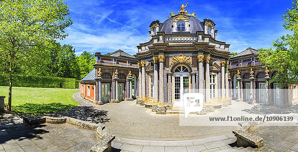 Germany  Bavaria  Bayreuth  Hermitage with sun temple