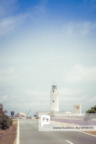 Spanien  Formentera  La Mola  Far de la Mola  Leuchtturm