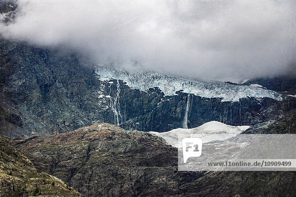 Italien  Lombardei  Sasso Rosso Gletscher