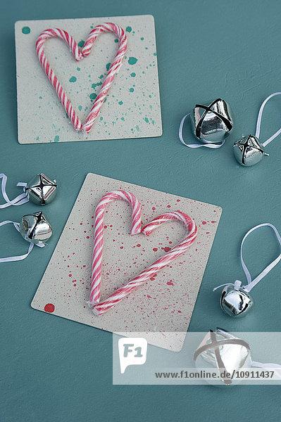 DIY Weihnachtsgrußkarten