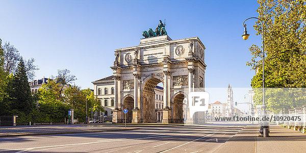 Deutschland  Bayern  München  Siegestor Deutschland, Bayern, München, Siegestor