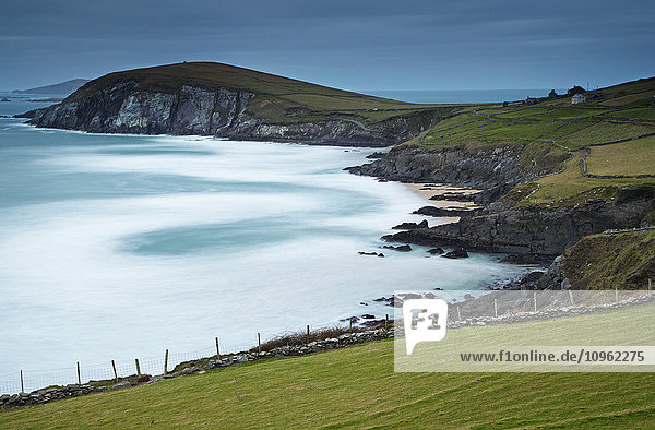'Coumeenole beach on the Slea Head drive on the Dingle Peninsula  Wild Atlantic Way; County Kerry  Ireland'