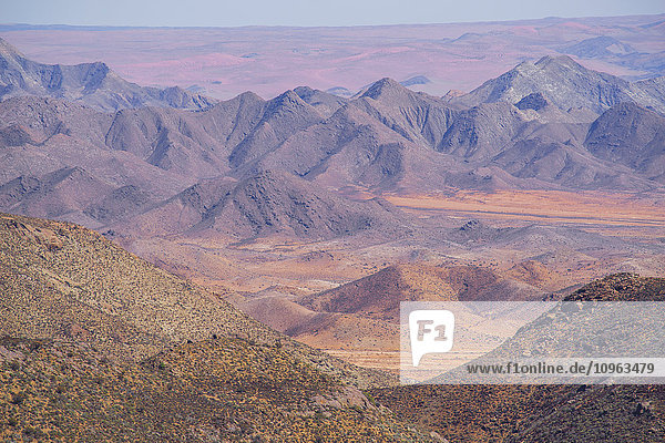 'The colourful hills and mountains of the Richtersveld National Park; South Africa'