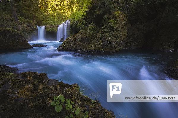 'Spirit Falls; Washington  United States of America'