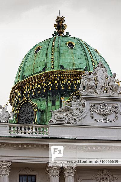'Green dome of Hofburg Palace; Vienna  Austria'