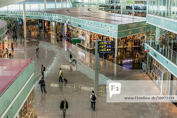 'Terminal 1 at Barcelona Airport; Barcelona  Spain'