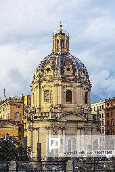 'Santa Maria di Loreto Church; Rome  Italy' 'Santa Maria di Loreto Church; Rome, Italy'