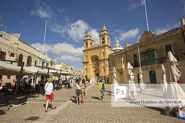 'Our Lady of Pompei Church; Marsaxlook  Malta'