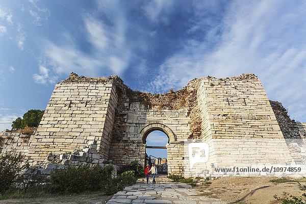 'Church on Ayasuluk Hill; Ephesus  Turkey'