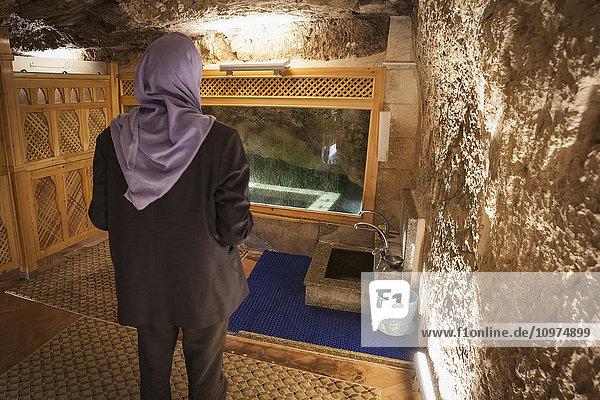 'Chamber of Abraham; Sanliurfa  Turkey' 'Chamber of Abraham; Sanliurfa, Turkey'
