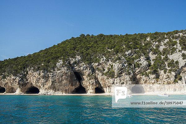 'Cala Luna; Golfo di Orosei  Sardinia  Italy'