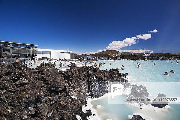 'Iceland's famous Blue Lagoon; Grindavik  Iceland'
