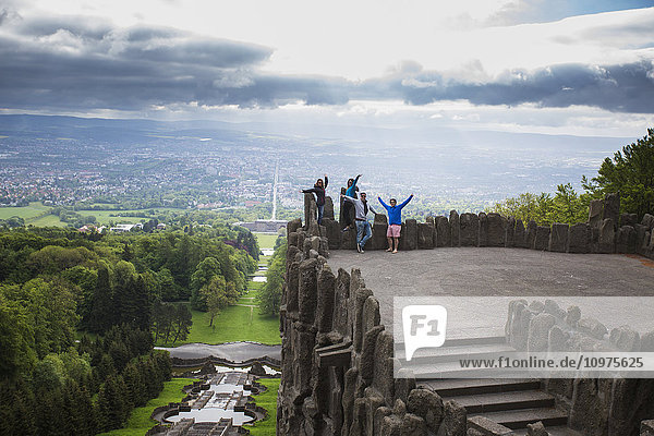 'NoneThe view atop the Hercules monument; Kassel  Germany'
