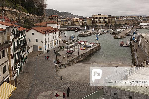 'The harbour and Naval Museum; San Sebastian  Spain'
