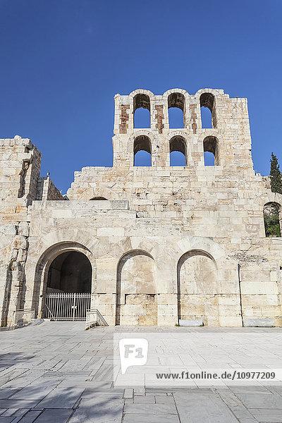 'Amphitheatre of Herodeion; Athens  Greece' 'Amphitheatre of Herodeion; Athens, Greece'
