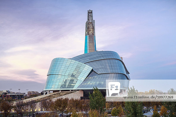 'Canadian Museum for Human Rights; Winnipeg  Manitoba  Canada'