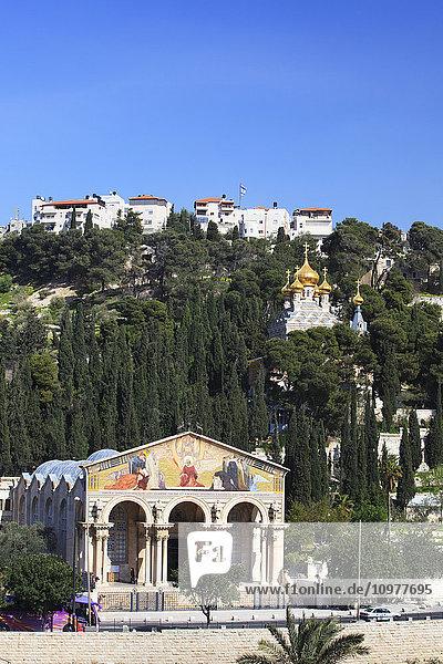 'Church of All Nations; Jerusalem  Israel' 'Church of All Nations; Jerusalem, Israel'