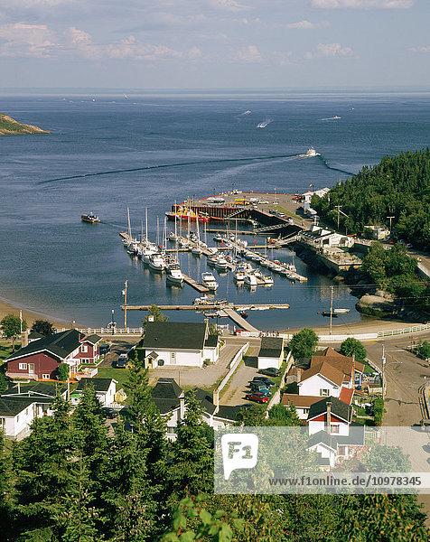 Tadoussac Village And Marina  Cote-Nord  Quebec