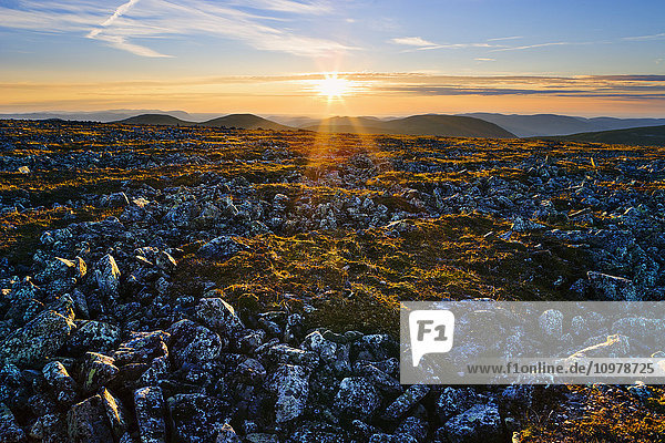 'View From Top Of Mont Jacques-Cartier In Gaspesie National Park; Quebec  Canada'