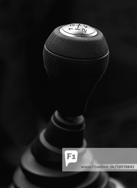 5-speed gearshift on a black background