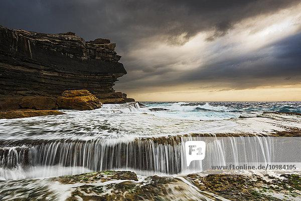 Australien  New South Wales  Clovelly  Haipunkt am Abend