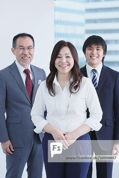 Japanese businesspeople