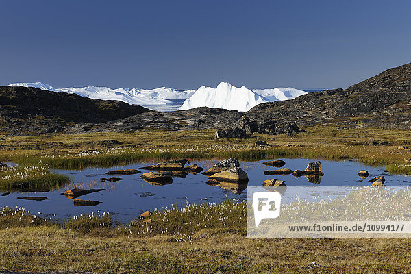 Disko Bay  Jakobshavn Glacier  Ilulissat  Greenland