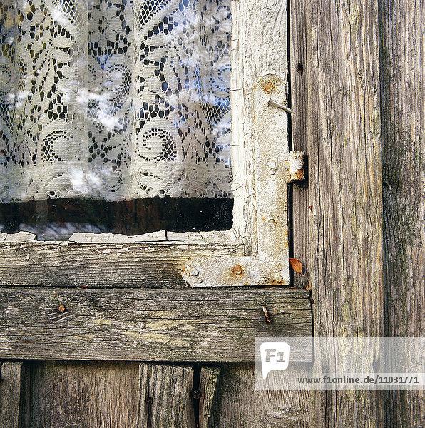 A window  close-up.