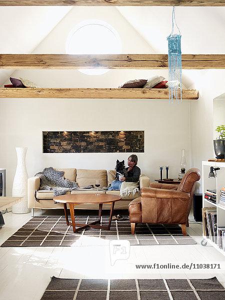 A living-room  Sweden.