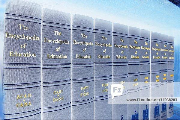 Enzyklopädie  The Encyclopedia of Education  verfremdet